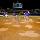 Cubs outlast Giants 2-0 in rain-shortened game The Associated Press