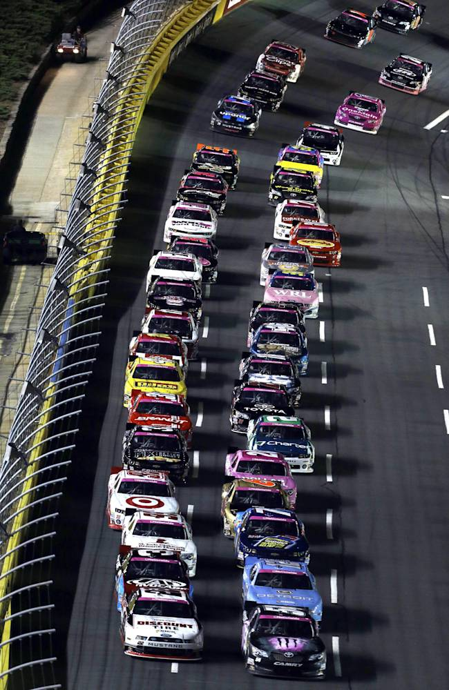 Kyle Busch wins Nationwide race at Charlotte