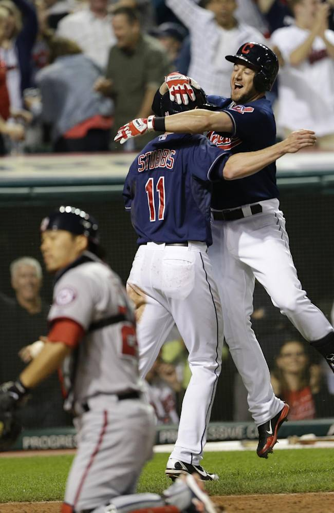 Kipnis RBI helps Indians top Nationals 2-1