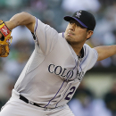 De La Rosa pitches Rockies to 2-1 win over Athletics The Associated Press