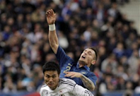 Lackluster France loses 1-0 to Japan in friendly