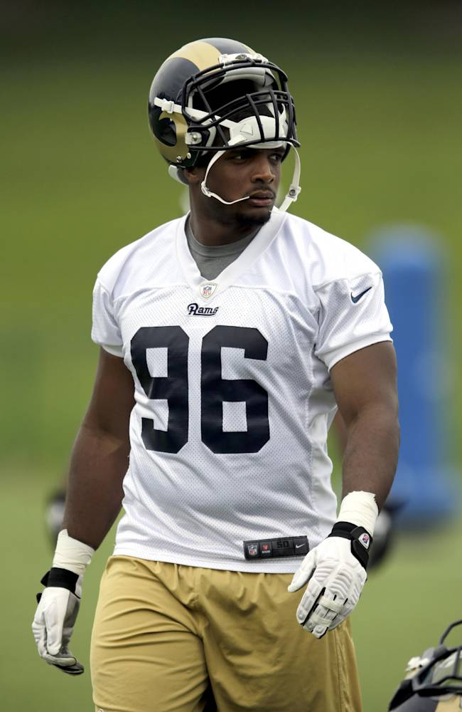 Michael Sam: No issues fitting in with Rams