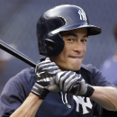 Ichiro on crowded Yankees' outfield: 'Oops' The Associated Press