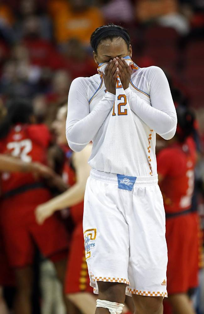 Maryland upsets Tennessee Lady Vols 73-62