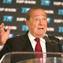 Bob Arum speaks at a press conference announcing the signing of Ryota Murata with Top Rank Boxing as he starts his professional career at Beverly Hills Hotel on June 10, 2013 in Beverly Hills, California.  (Photo by Stephen Dunn/Getty Images)