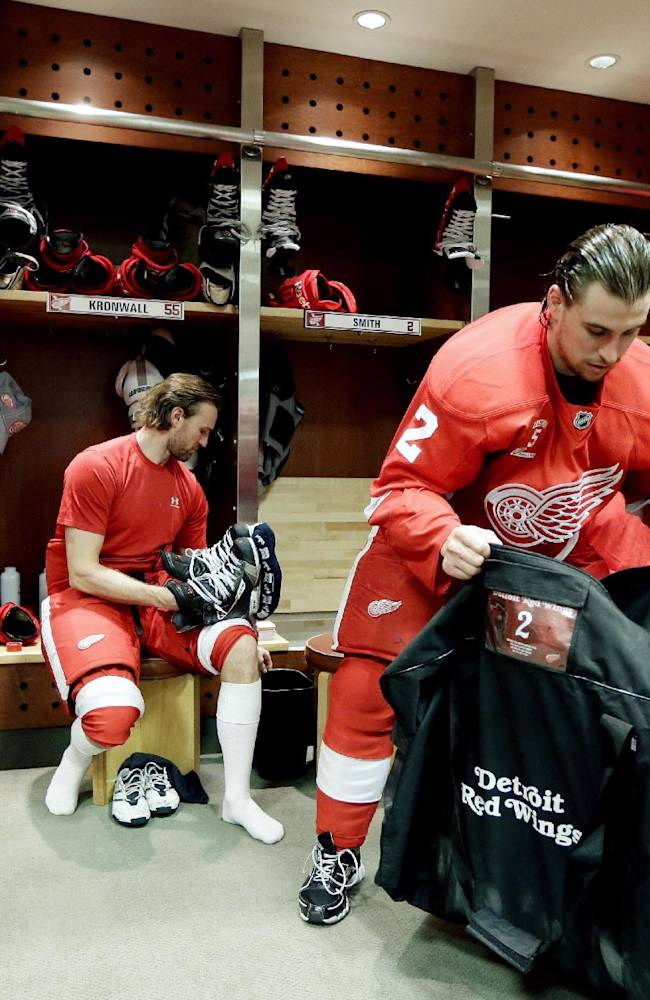Red Wings' Babcock isn't worried about his future