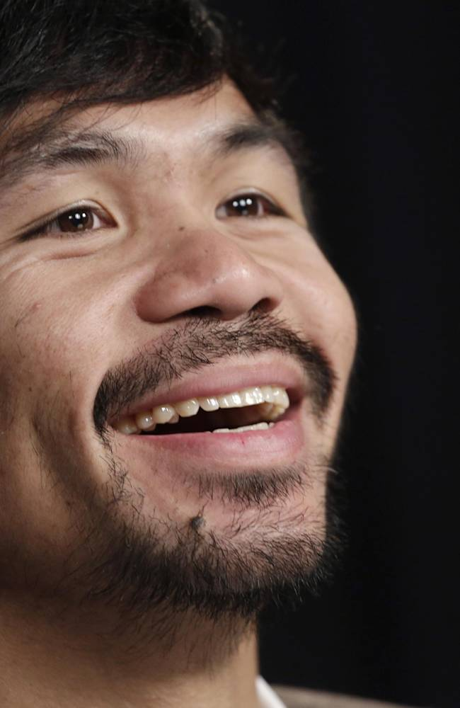 Pacquiao has Algieri next, but Floyd is out there