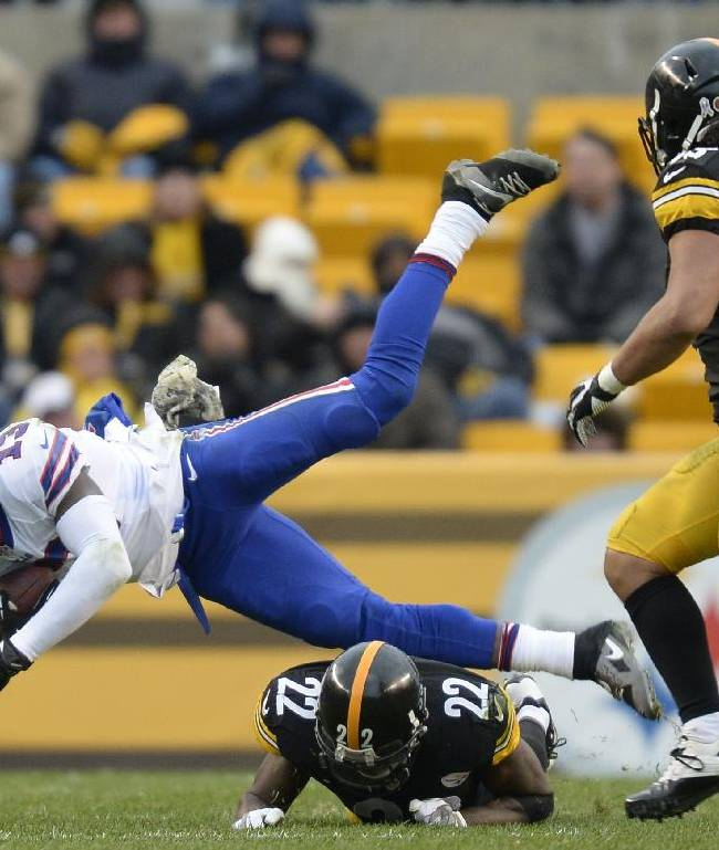 Bills' WR Johnson out with groin injury