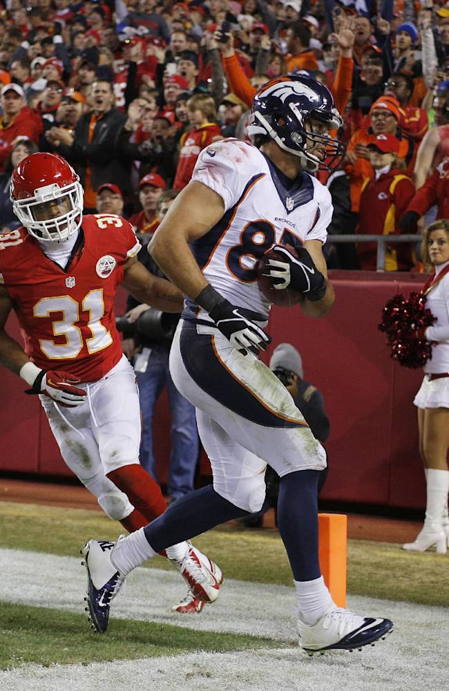 Decker makes up for season's worth of frustrations