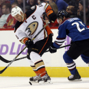 Ducks' Getzlaf, Perry leave before game with flu The Associated Press
