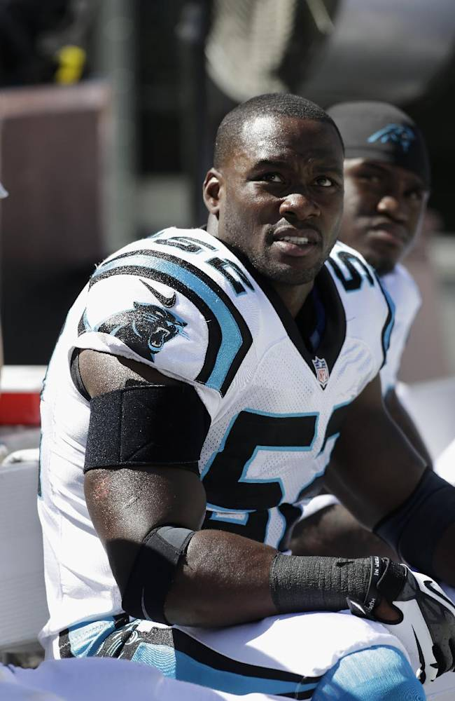 Giants acquire LB Beason from Panthers