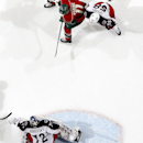 Minnesota Wilds' Zach Parise (11) shoots the puck past Columbus Blue Jackets goalie Sergei Bobrovsky (72) for a goal in the first period of an NHL hockey game, Monday, Jan. 19, 2015, in St. Paul, Minn. The Blue Jackets won 3-1 The Associated Press