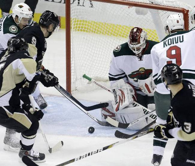 Kunitz, Crosby lead Penguins to 5-2 win over Wild