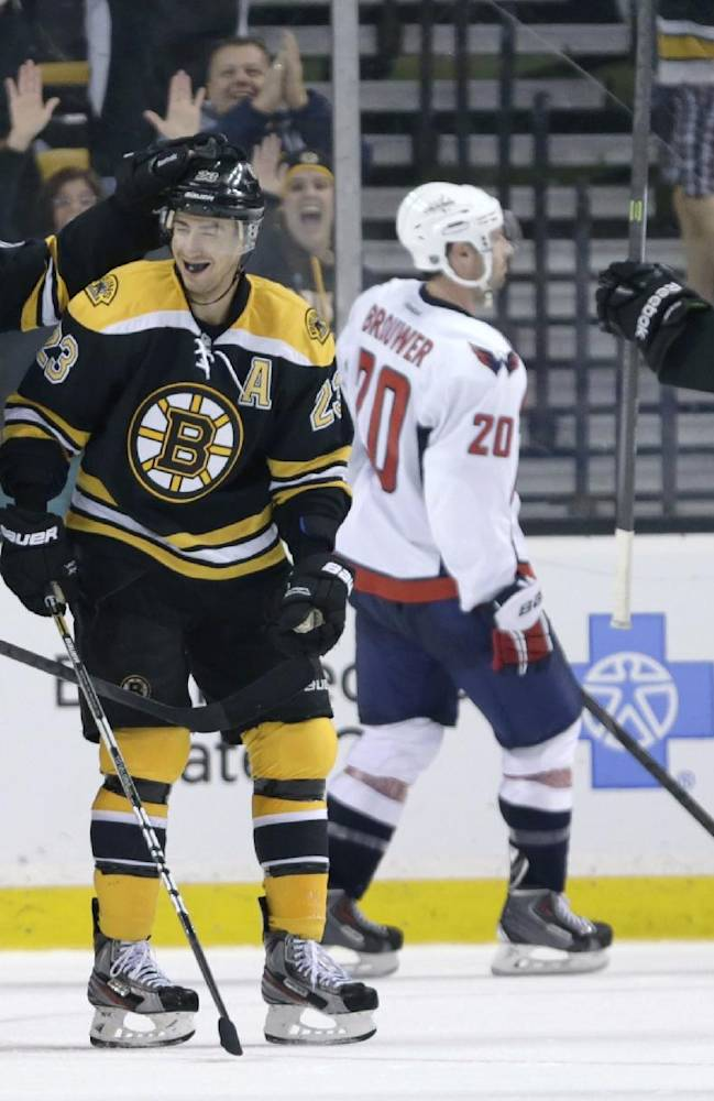 Bruins have familiar look as they eye another Cup