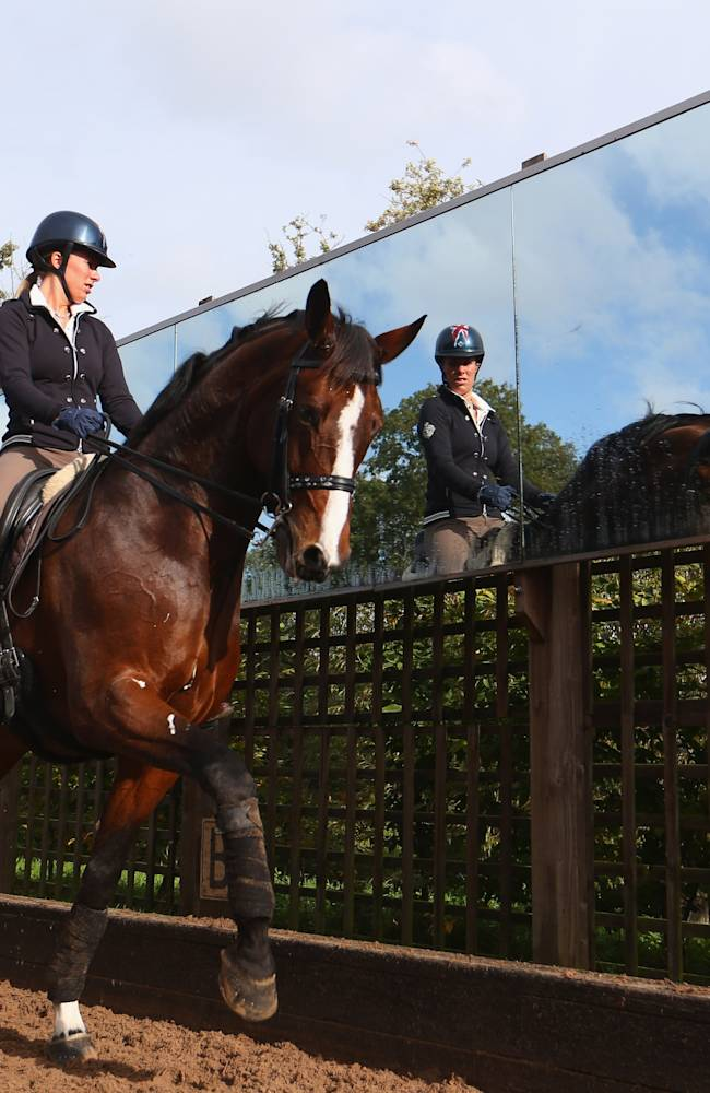 Photo Shoot with Olympic Dressage Gold Medalists Charlotte Dujardin and Carl Hester