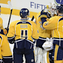 Legwand leads Predators to 3-1 win over Stars The Associated Press