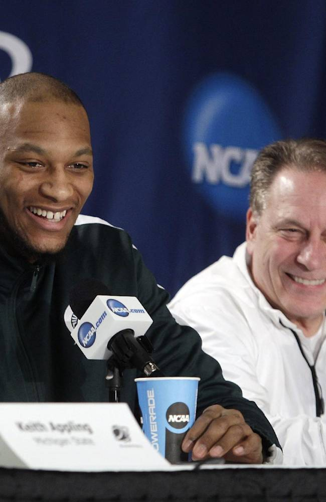 Michigan State gets its timing back just in time