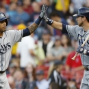 Jennings, Hellickson help Rays top Red Sox, 6-2 (Yahoo! Sports)