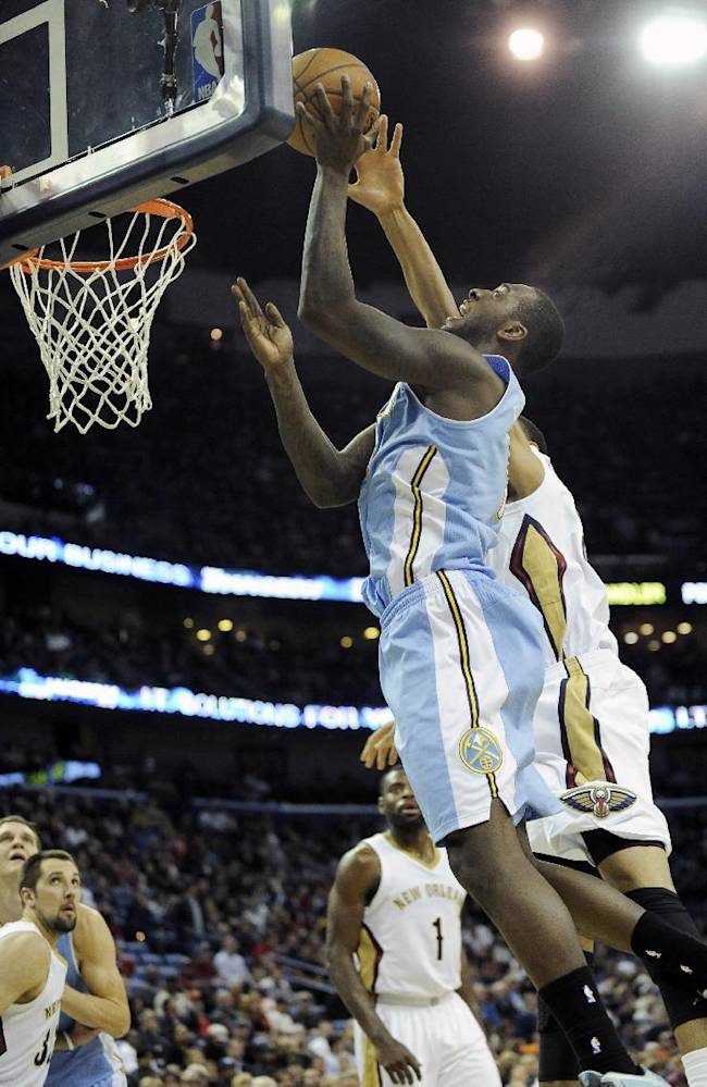 Tyreke Evans leads Pelicans past Nuggets, 105-89