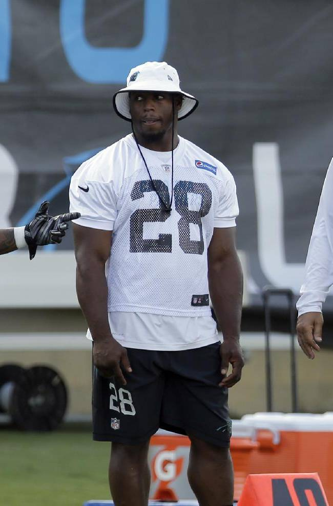 Panthers' Stewart not worried about latest injury