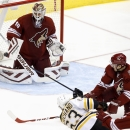 Marchand, Rask help Bruins beat Coyotes, 5-2 The Associated Press