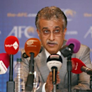Asian Football Confederation (AFC) President Sheikh Salman Bin Ebrahim Al Khalifa speaks during a news conference during an AFC Extraordinary Congress in Kuala Lumpur May 2, 2013. REUTERS/Bazuki Muhammad