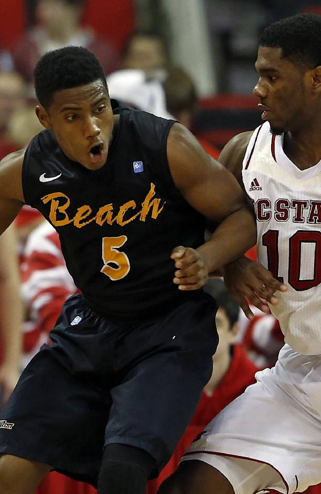 Warren leads NC State over Long Beach State 76-66