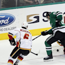 Flames use big 2nd period to beat host Stars 5-3 The Associated Press