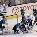 Vrbata leads Canucks past Sharks 3-2 The Associated Press