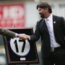Rockies retire Helton's No. 17 jersey The Associated Press