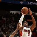 Dwyane Wade sidelined by strained hamstring The Associated Press