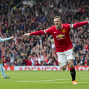 Rooney gets red card; Neymar hat trick for Barca