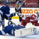 Helm's hat trick extends Maple Leafs' skid to 8 The Associated Press