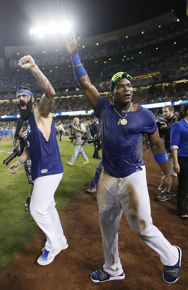 Dodgers headed to St. Louis for start of NLCS