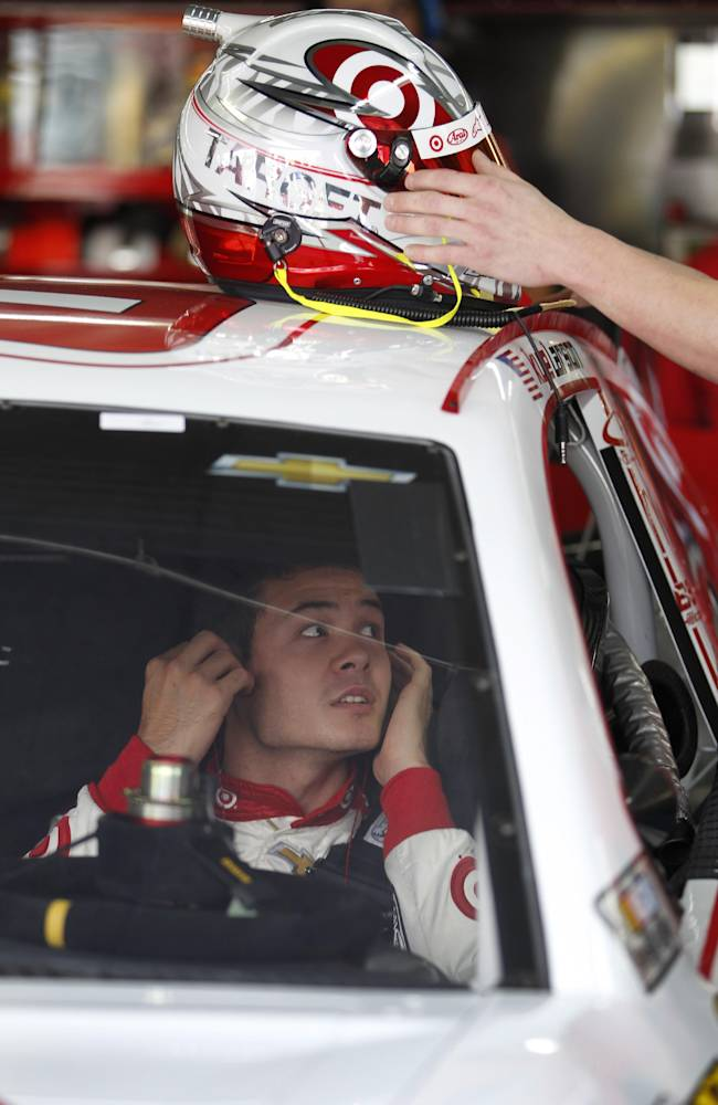 Larson setting sensible goals for Sprint Cup debut