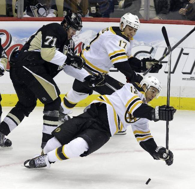 Penguins edge Bruins 3-2