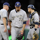 Garza knocked out in 1st; Nats beat Brewers 8-3 The Associated Press