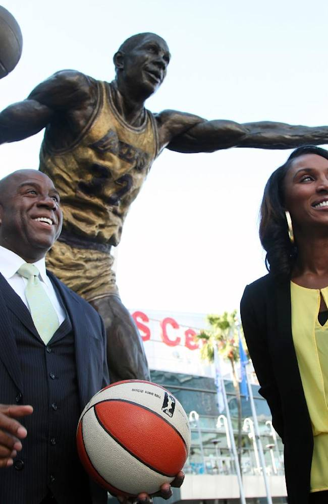 Magic Johnson buys Sparks, keeps WNBA team in LA