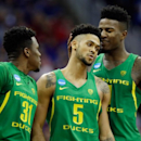 Oregon stuns Kansas to reach first Final Four in 78 years (Yahoo Sports)