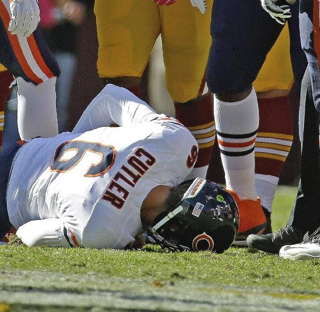 Bears not ruling out early return for Cutler