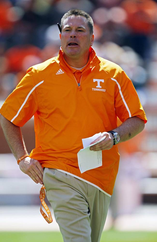 Jones seeks solutions for Tennessee's depth issues
