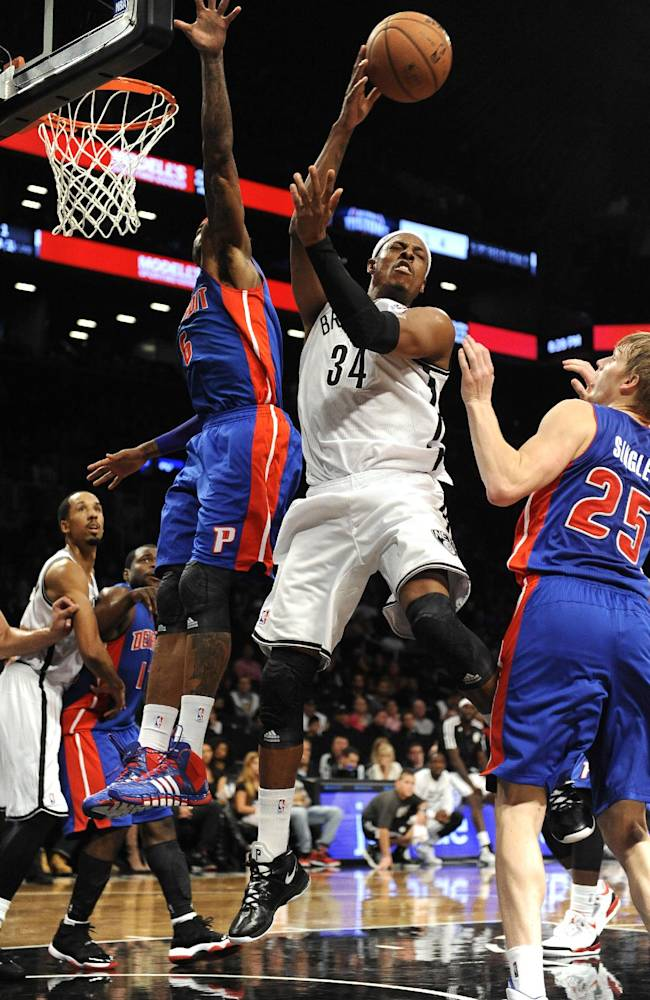 Drummond leads Pistons to 99-88 win over Nets