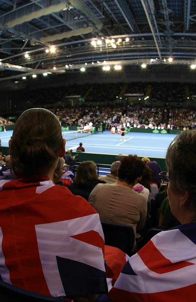 GB v USA - Davis Cup: Day 1