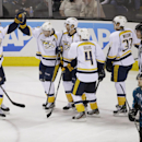 Hornqvist helps Predators beat Sharks 3-0 The Associated Press