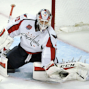 Wholtashington Capitals goalie Braden Holtby makes a save during the second period of an NHL hockey game against the Chicago Blackhawks in Chicago, Friday, Nov. 7, 2014. Washington won 3-2 The Associated Press
