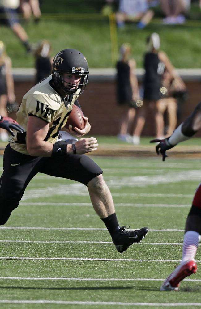 Wake Forest beats NC State 28-13