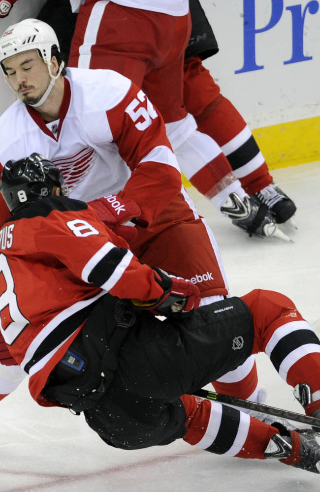 Gionta's goal lifts Brodeur, Devils over Wings