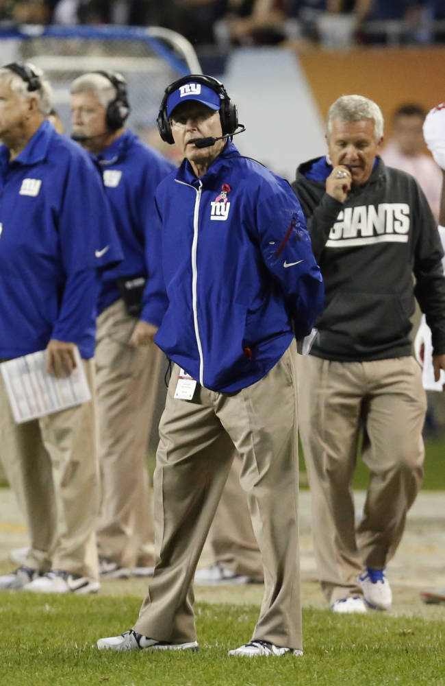 Giants have fallen just 2 years after NFL crown