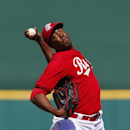 Reds' Chapman cleared to throw batting practice The Associated Press