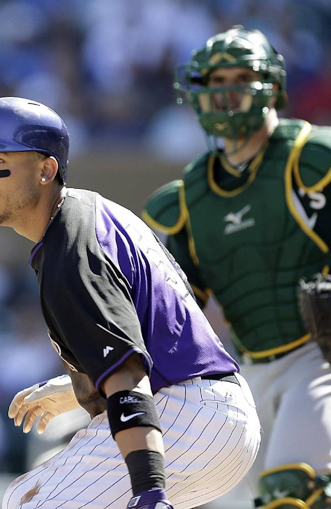 LEADING OFF: Rockies' Gonzalez expected to return to lineup
